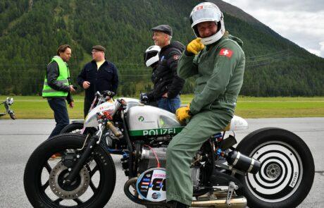 Die Stimmung unter den Fahrern war in St. Moritz super
