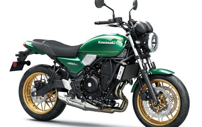 Die neue Kawasaki Z650RS kommt 2022 auf den Markt