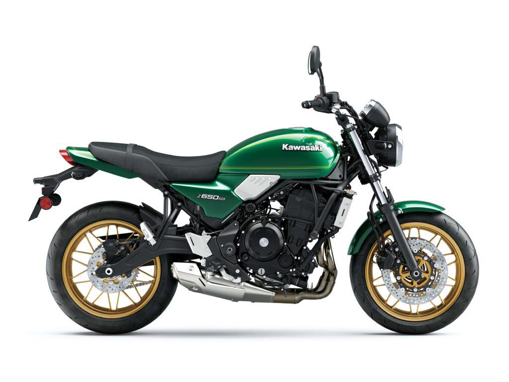 Viele Käufer werden sich aber wohl für eine Z650RS in Candy Emerald Green entscheiden